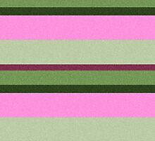 Pink Roses in Anzures 1 Stripes 3H by Christopher Johnson