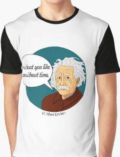 Funny science Albert Einstein Graphic T-Shirt