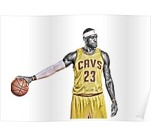 Lebron the legend Poster