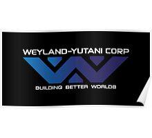 Weyland Yutani - Gradient Logo Poster