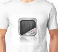 multimedia icon Unisex T-Shirt