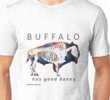 Buffalo Has Good Bones Watercolor Print Unisex T-Shirt