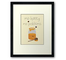 A Sticky Situation Framed Print