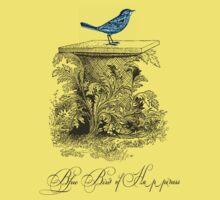 Blue Bird of Happiness Kids Tee
