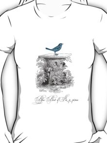 Blue Bird of Happiness T-Shirt