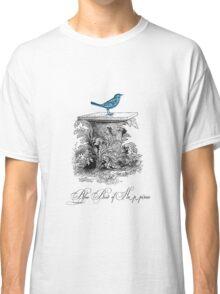 Blue Bird of Happiness Classic T-Shirt
