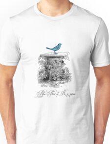 Blue Bird of Happiness Unisex T-Shirt