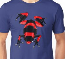 Red and Black Poison Dart Frog Unisex T-Shirt