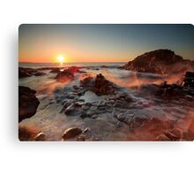 The Giant's Causeway , Co Antrim , Northern Ireland Canvas Print