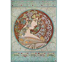 Alphonse Mucha - Ivy, 1901  Photographic Print