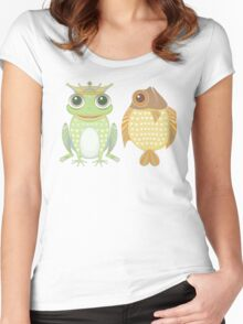 Frog & Fish Women's Fitted Scoop T-Shirt