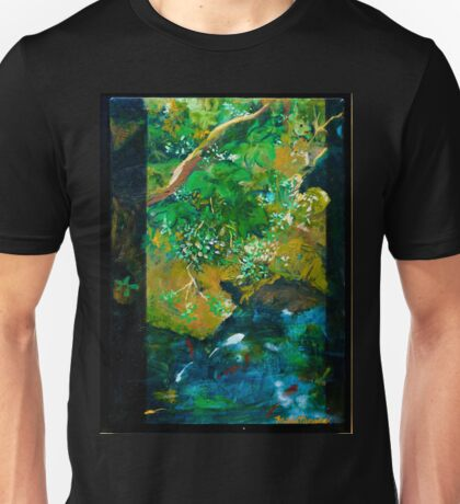 Screensaver--Koi Scene Unisex T-Shirt