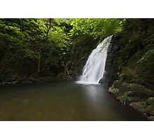 Glenoe waterfall  / Co Antrim / Northern Ireland Photographic Print