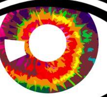 Tie Dye Eye  Sticker