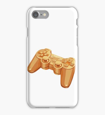 gold gamepad iPhone Case/Skin