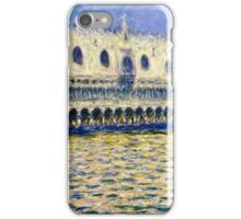 Claude Monet - The Doges Palace (Le Palais ducal) (1908)  iPhone Case/Skin