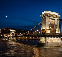 Budapest at Night by Robert Kelch, M.D.