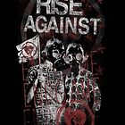 Rise Against Gas Masks Poster by ultimatejeb