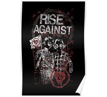 Rise Against Gas Masks Poster Poster