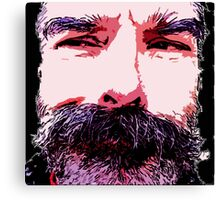 Z's Wild Beard Too Canvas Print