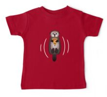 Sea Otter with Pizza Baby Tee