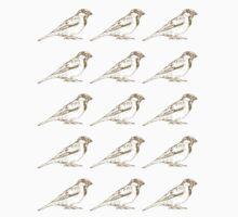 Sparrow Sketch Kids Clothes