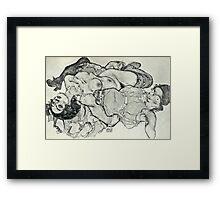Egon Schiele - Zeichnungen VIII  (1915)  Framed Print
