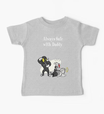 BioShock - Always Safe With Daddy Poster (White) Baby Tee