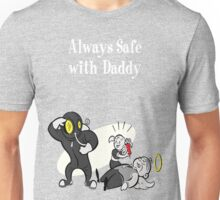 BioShock - Always Safe With Daddy Poster (White) Unisex T-Shirt