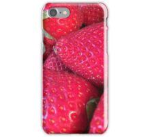 Fresh Strawberries iPhone Case/Skin