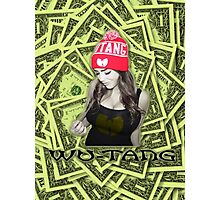 Wu Tang Girl Photographic Print