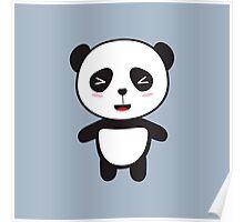 Kawaii Panda Bear Poster