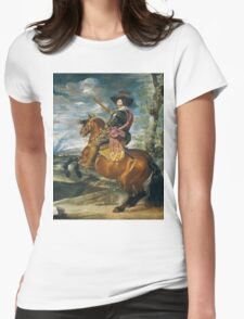 Rembrandt - Count Duke Of Olivares Womens Fitted T-Shirt