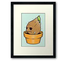 Baby Groot Framed Print