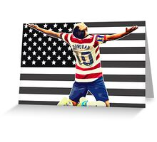 United States of Donovan Greeting Card