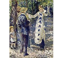 Renoir Auguste - The Swing 1876  Photographic Print