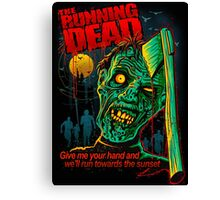 THE RUNNING DEAD Canvas Print