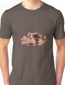 Flower Face Nature Unisex T-Shirt
