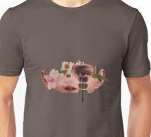 Flower Face Nature Unisex T-Shirt
