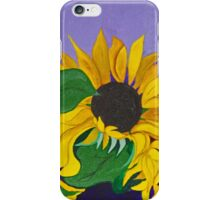Sunflowers..Glimpses of God's Goodness iPhone Case/Skin