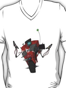 Badass Claptrap Sticker T-Shirt