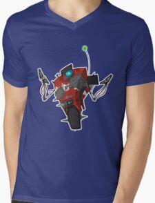 Badass Claptrap Sticker Mens V-Neck T-Shirt