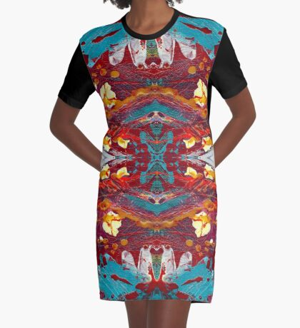 Comic Book Hero Graphic T-Shirt Dress