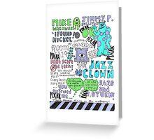 Monsters U! Greeting Card