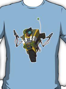 Soldier Claptrap Sticker T-Shirt