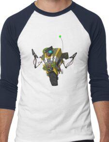 Soldier Claptrap Sticker Men's Baseball ¾ T-Shirt