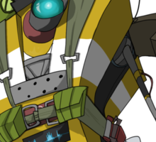 Soldier Claptrap Sticker Sticker