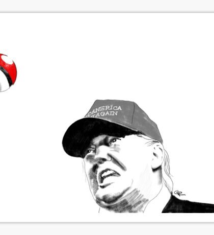 I Choose You, Trump-chu! Sticker