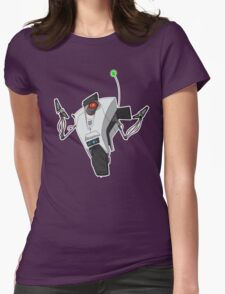 Portal Claptrap Sticker Womens Fitted T-Shirt