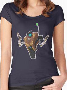 Jakob's Claptrap Sticker Women's Fitted Scoop T-Shirt